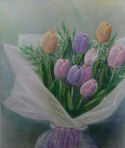 Tulip1 · 툴립꽃 다발1