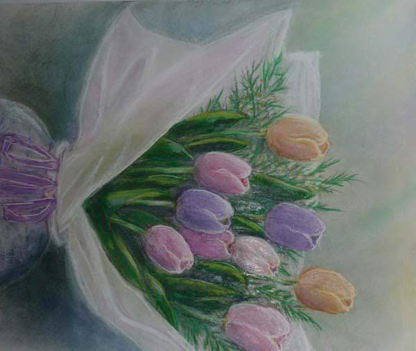 Tulip2 · 툴립꽃 다발2