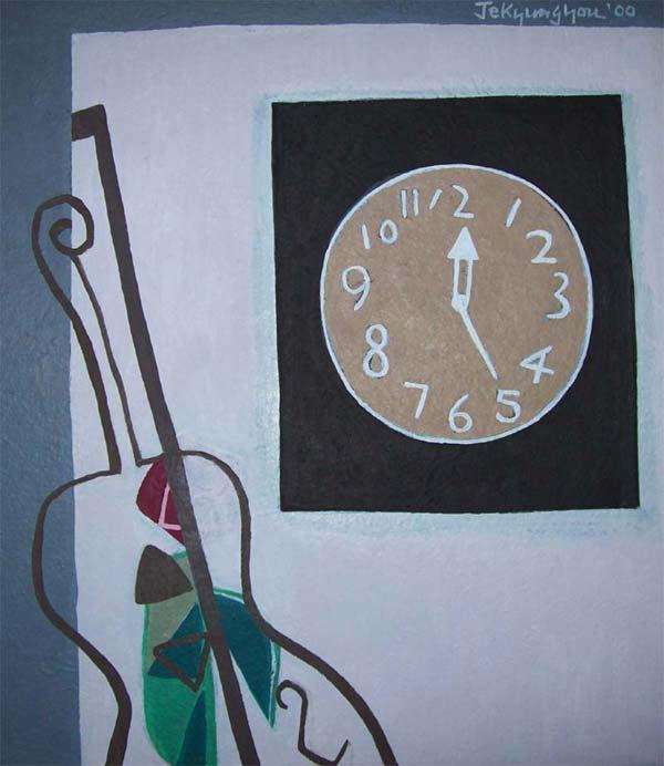 Cello 와 Clock 12:25